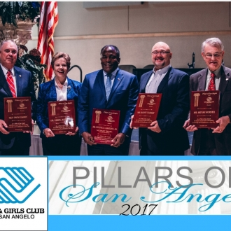 Pillars Event 2017 Honorees