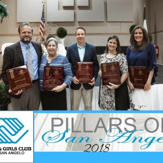 Pillars Event 2018 Honorees